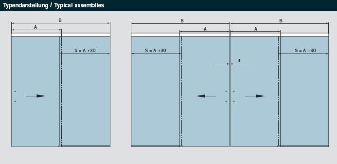 agile 150 glasschiebet r von ihrem glaser und glaserei. Black Bedroom Furniture Sets. Home Design Ideas