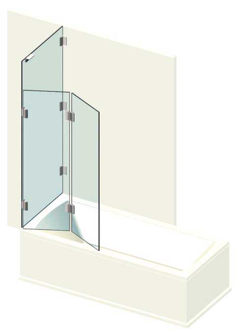 badewanne trennwand faltwand konfigurieren anfragen glastechnik berlin. Black Bedroom Furniture Sets. Home Design Ideas