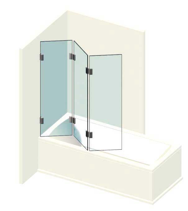 badewanne trennwand von glastechnik berlin badewanne trennwand badewanne faltwand badewanne. Black Bedroom Furniture Sets. Home Design Ideas